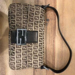 Fendi printed bag (brown)